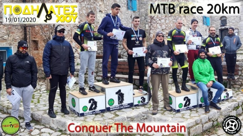 Chios Mountain Challenge 2020 - Αποτελέσματα