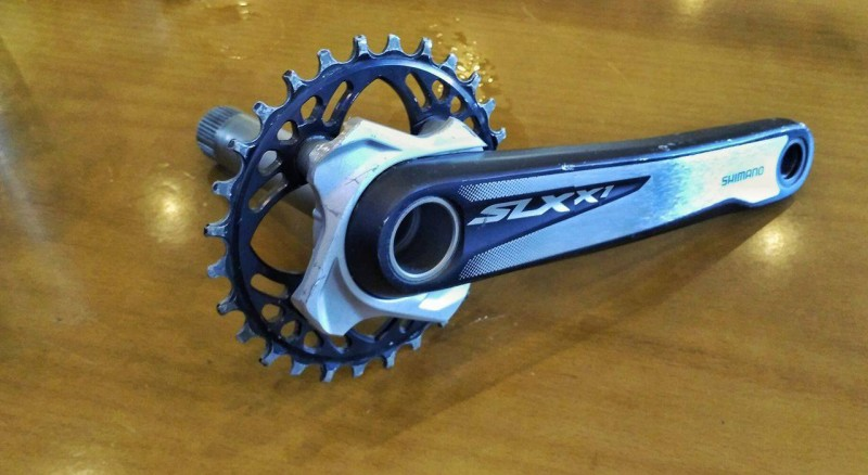 Shimano SLX upgrated to SLXx1